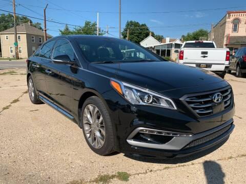 2017 Hyundai Sonata for sale at Auto Gallery LLC in Burlington WI