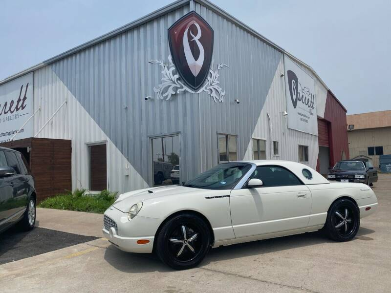 2002 Ford Thunderbird for sale at Barrett Auto Gallery in San Juan TX