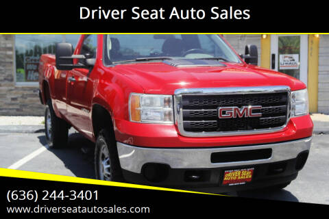 2014 GMC Sierra 2500HD for sale at Driver Seat Auto Sales in Saint Charles MO
