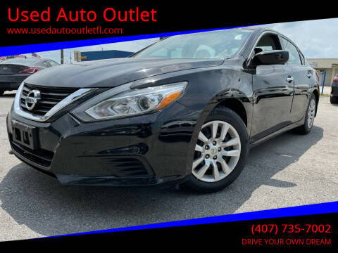 2018 Nissan Altima for sale at Used Auto Outlet in Orlando FL