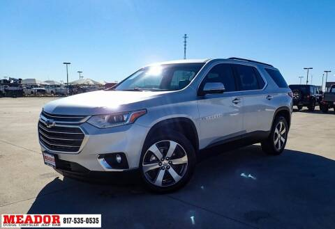 2019 Chevrolet Traverse for sale at Meador Dodge Chrysler Jeep RAM in Fort Worth TX