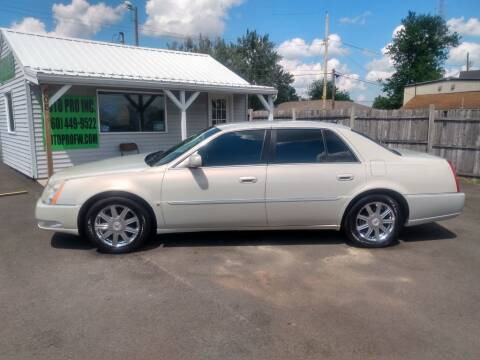 2007 Cadillac DTS for sale at Auto Pro Inc in Fort Wayne IN