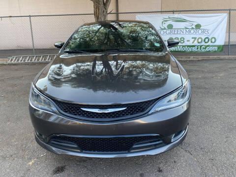 2016 Chrysler 200 for sale at GO GREEN MOTORS in Lakewood CO