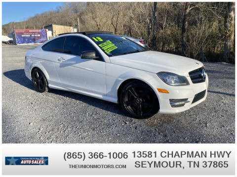 2013 Mercedes-Benz C-Class for sale at Union Motors in Seymour TN