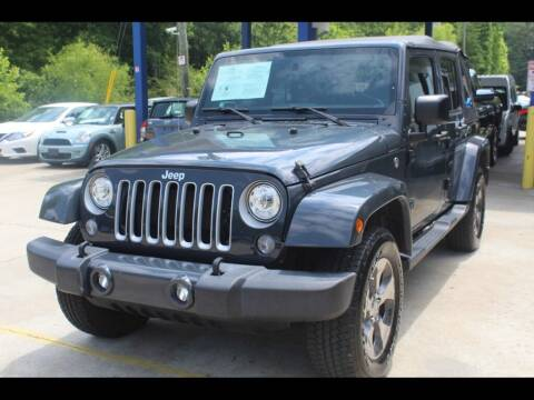 2018 Jeep Wrangler JK Unlimited for sale at Inline Auto Sales in Fuquay Varina NC