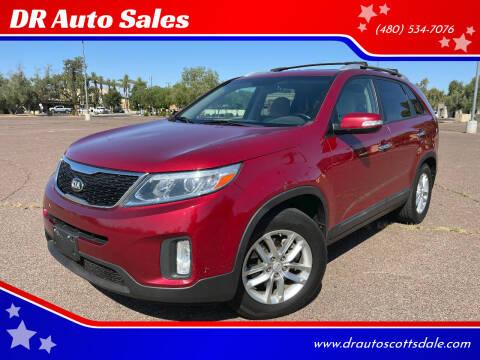 2015 Kia Sorento for sale at DR Auto Sales in Scottsdale AZ