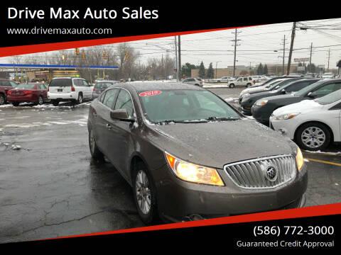 2010 Buick LaCrosse for sale at Drive Max Auto Sales in Warren MI