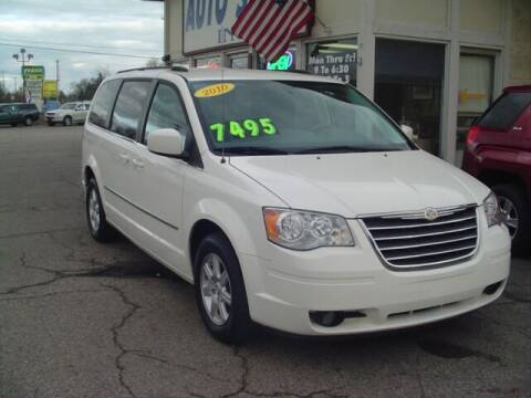 2010 Chrysler Town and Country for sale at G & L Auto Sales Inc in Roseville MI