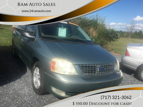 2007 Ford Freestar for sale at Ram Auto Sales in Gettysburg PA