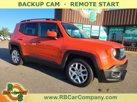 2016 Jeep Renegade for sale at R & B Car Co in Warsaw IN