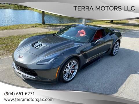 2017 Chevrolet Corvette for sale at Terra Motors LLC in Jacksonville FL