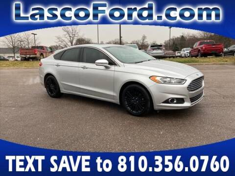 2016 Ford Fusion for sale at Lasco of Grand Blanc in Grand Blanc MI
