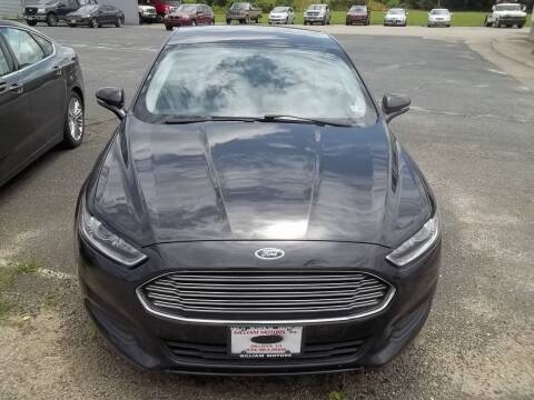 2015 Ford Fusion for sale at Gilliam Motors Inc in Dillwyn VA
