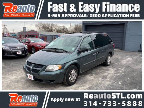 2003 Dodge Grand Caravan for sale at Reauto in Saint Louis MO