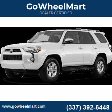 2019 Toyota 4Runner for sale at GoWheelMart in Leesville LA
