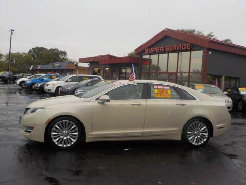 2015 Lincoln MKZ for sale at Super Service Used Cars in Milwaukee WI