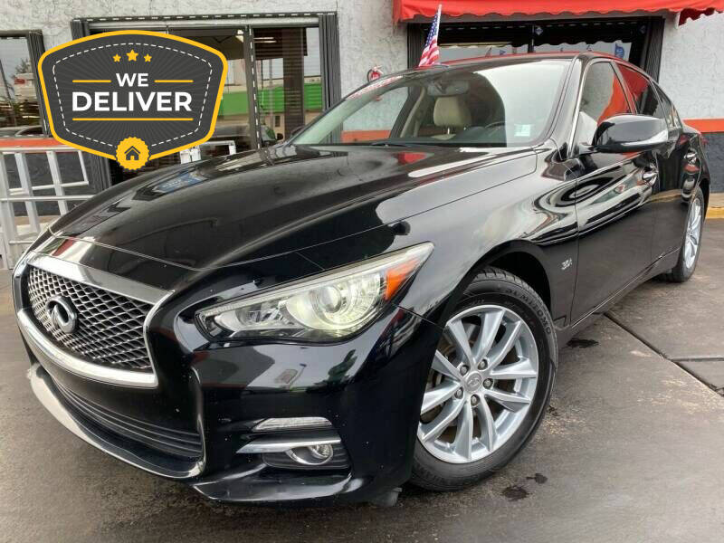 2017 Infiniti Q50 for sale at LATINOS MOTOR OF ORLANDO in Orlando FL