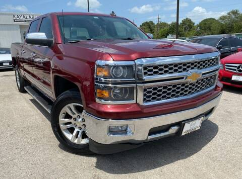 2015 Chevrolet Silverado 1500 for sale at KAYALAR MOTORS in Houston TX