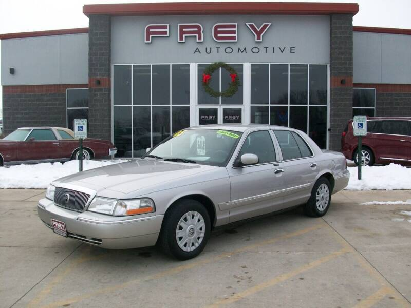 2005 Mercury Grand Marquis for sale at Frey Automotive in Muskego WI
