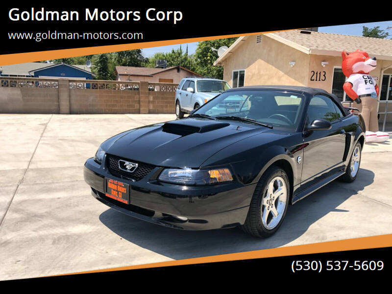 2004 Ford Mustang for sale at Goldman Motors Corp in Stockton CA