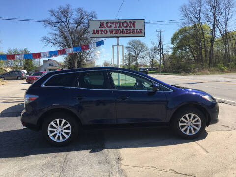 2010 Mazda CX-7 for sale at Action Auto Wholesale in Painesville OH