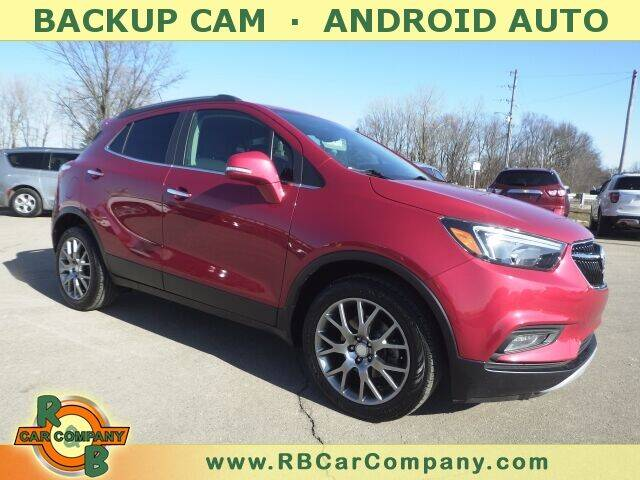 2017 Buick Encore for sale at R & B CAR CO - R&B CAR COMPANY in Columbia City IN