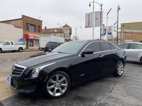 2013 Cadillac ATS for sale at Latino Motors in Aurora IL