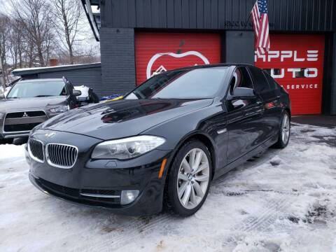 2011 BMW 5 Series for sale at Apple Auto Sales Inc in Camillus NY