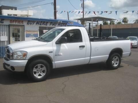2008 Dodge Ram Pickup 1500 for sale at Town and Country Motors - 1702 East Van Buren Street in Phoenix AZ