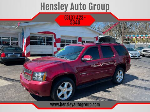 2007 Chevrolet Tahoe for sale at Hensley Auto Group in Middletown OH