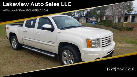 2013 GMC Sierra 1500 for sale at Lakeview Auto Sales LLC in Sycamore GA
