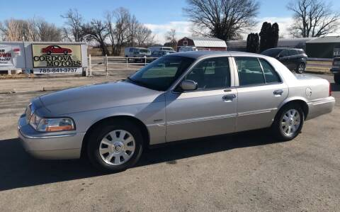 2004 Mercury Grand Marquis for sale at Cordova Motors in Lawrence KS