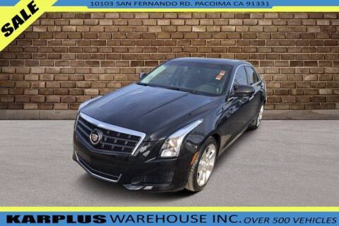 2013 Cadillac ATS for sale at Karplus Warehouse in Pacoima CA