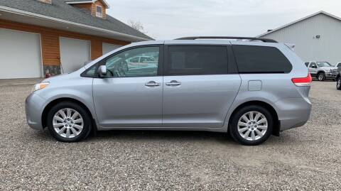 2012 Toyota Sienna for sale at MARIETTA MOTORS LLC in Marietta OH