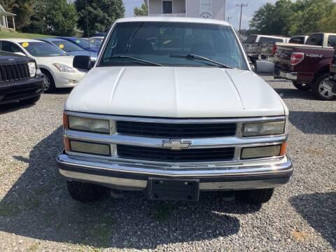 1998 Chevrolet C/K 1500 Series for sale at Moose Motors in Morganton NC
