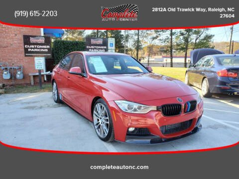 2015 BMW 3 Series for sale at Complete Auto Center , Inc in Raleigh NC