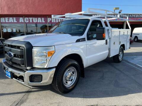2012 Ford F-250 Super Duty for sale at Sanmiguel Motors in South Gate CA
