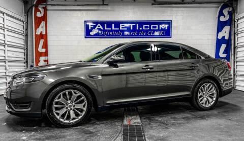 2016 Ford Taurus for sale at Falleti Motors, Inc.  est. 1976 in Batavia NY