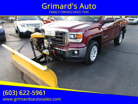 2014 GMC Sierra 1500 for sale at Grimard's Auto in Hooksett, NH