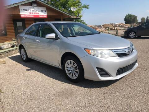 2012 Toyota Camry for sale at 5 Star Truck and Auto in Idaho Falls ID