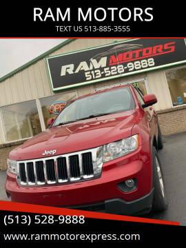 2011 Jeep Grand Cherokee for sale at RAM MOTORS in Cincinnati OH