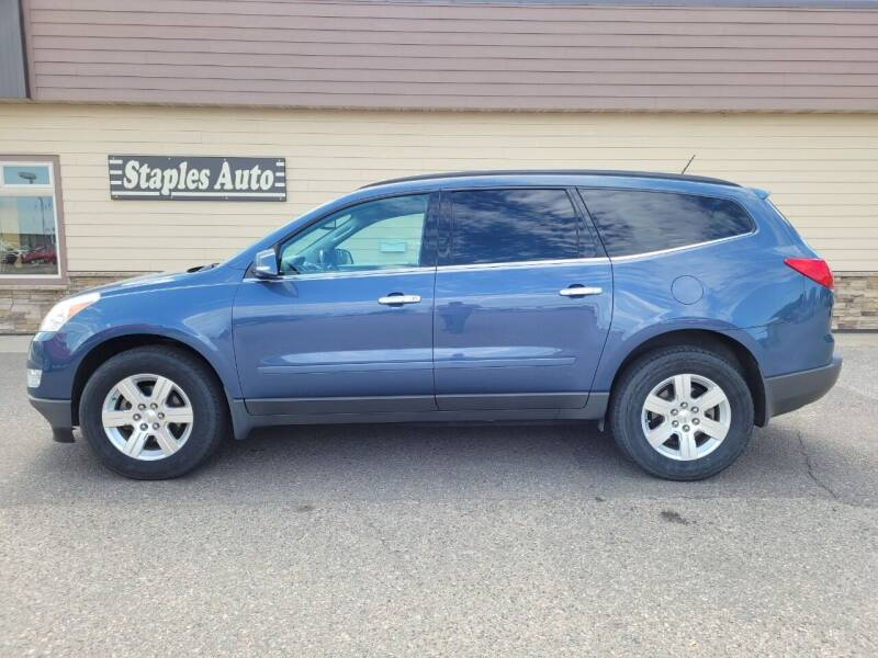 2012 Chevrolet Traverse for sale at STAPLES AUTO SALES in Staples MN