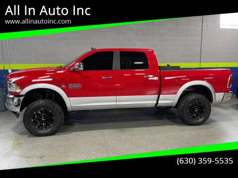 2015 RAM Ram Pickup 2500 for sale at All In Auto Inc in Addison IL