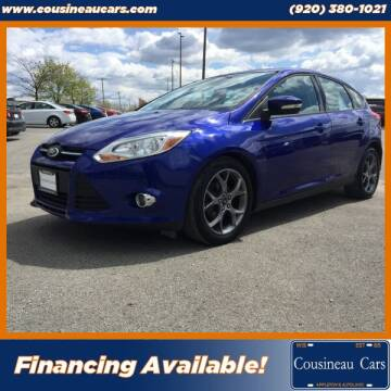 2013 Ford Focus for sale at CousineauCars.com in Appleton WI