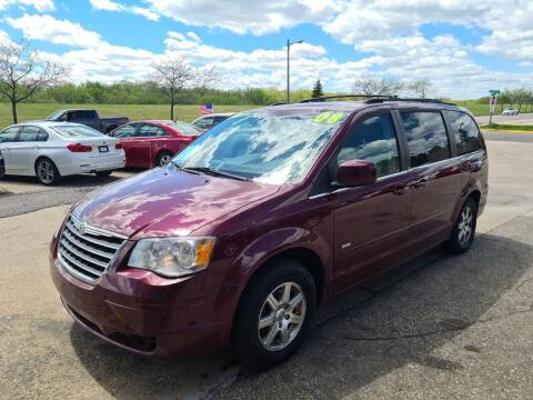2008 Chrysler Town and Country for sale at River Motors in Portage WI