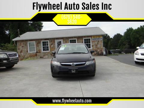 2006 Honda Civic for sale at Flywheel Auto Sales Inc in Woodstock GA
