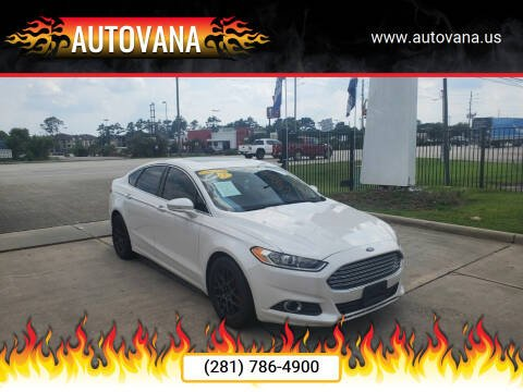 2015 Ford Fusion for sale at AutoVana in Humble TX