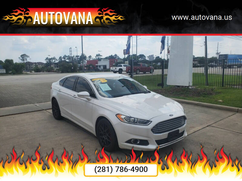 2015 Ford Fusion for sale in Humble, TX