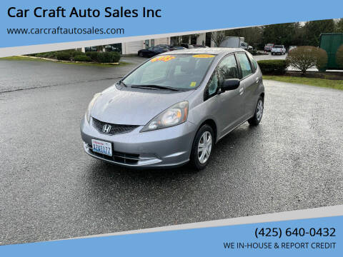 2009 Honda Fit for sale at Car Craft Auto Sales Inc in Lynnwood WA