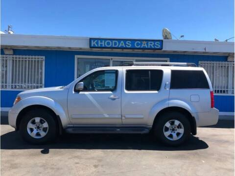 2005 Nissan Pathfinder for sale at Khodas Cars - buy here pay here in Gilroy, CA